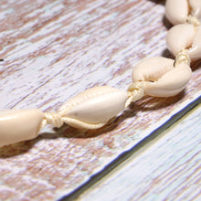 Load image into Gallery viewer, Boho Necklace, Puka Shell, White Ocean