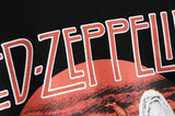 Boho Tee, Vintage T Shirt, Led Zep plin in Black