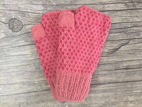 Fingerless Gloves - Toasty