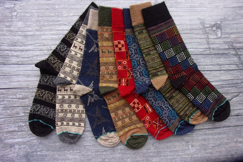 All Season Alpaca Socks