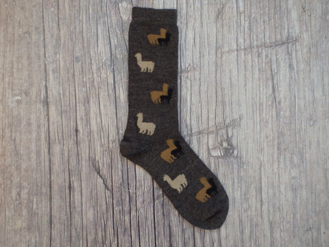 Heard about our Herd Alpaca Socks