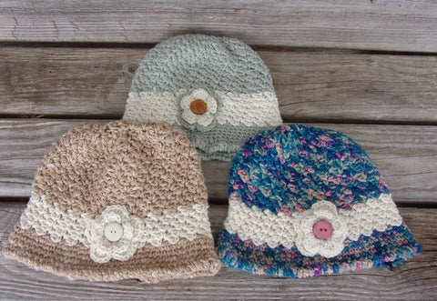ICC Angie Hats - Knits by Diane