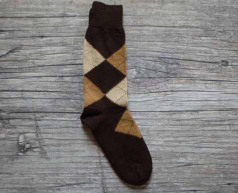 LW Argyle Dress Socks