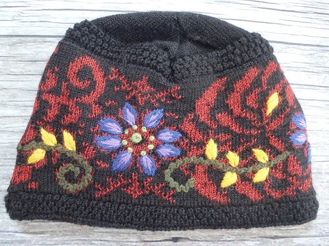 Autumn Bouquet Beanie