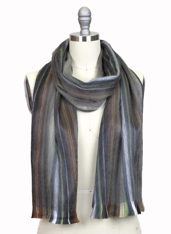 Brushed Scarf - Chocolate Mint