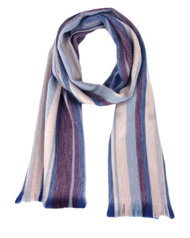 Brushed Alpaca Scarf - Fig Tree