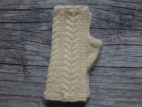 Fingerless Gloves - MW Cable