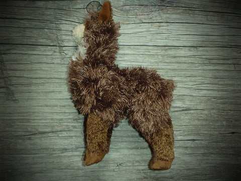 Dark Alpaca Toy