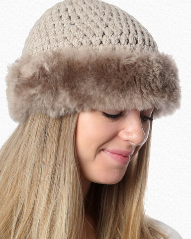 Anew for 19 - Colette Alpaca Hat - by HdF