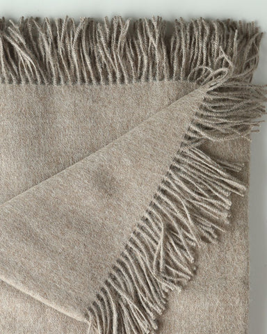 LW Cozy 100% ROYAL BABY Alpaca Throw - by HdF