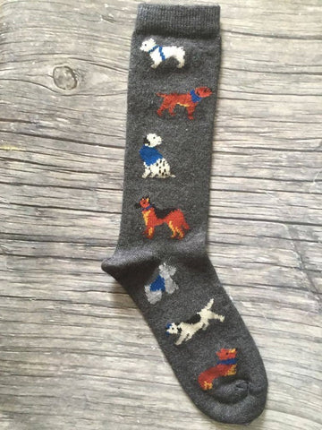 LW Icon - Dogs are a Human's Best Friend Socks - S&W SPECIAL