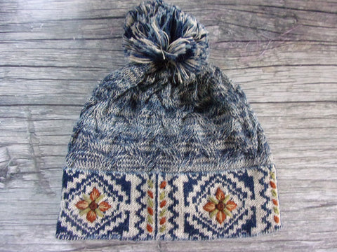 Anew for 19 - Frosty Mosaic Hat