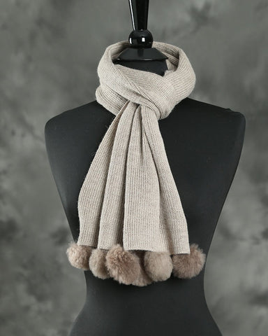 Knitted Scarf Kerri - by HdF
