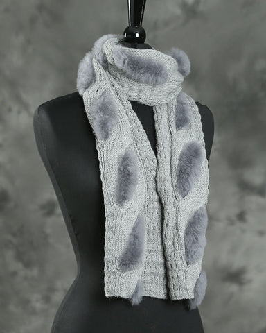 Knitted Sasha Scarf - by HdF