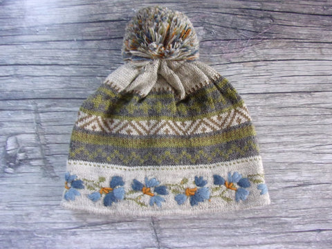 LW Lined Silver Ridge Pom-Pom Hat