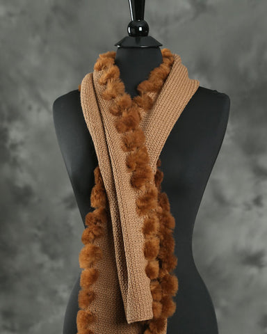 Anew for 19 - Alpaca Scarf Tess - by HdF