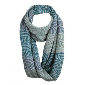 Infinity Wrap Scarf - Ocean Aire