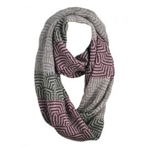Infinity Wrap Scarf - Mixed Berry