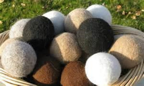 Dryer Balls - 5- the natural alternative to dryer sheets