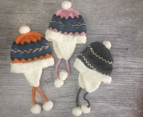 Flap Hat - Storm Cloud