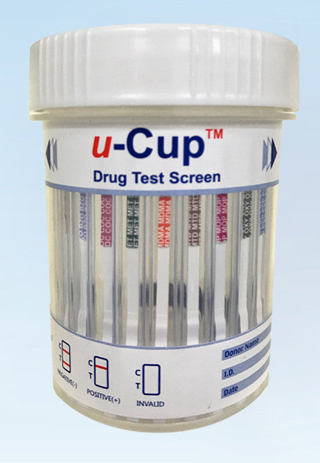 U-Cup 16-Panel Urine Drug Screen Cup with Fentanyl, Tramadol