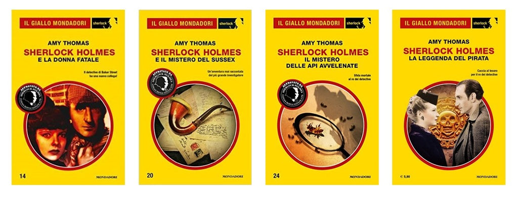 Amy Thomas Becomes The Leading Female Author in 'Il Giallo Mondadori Sherlock'