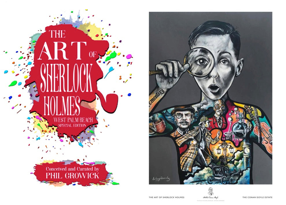 Art of Sherlock Holmes Book and Art Print Bundles Launched
