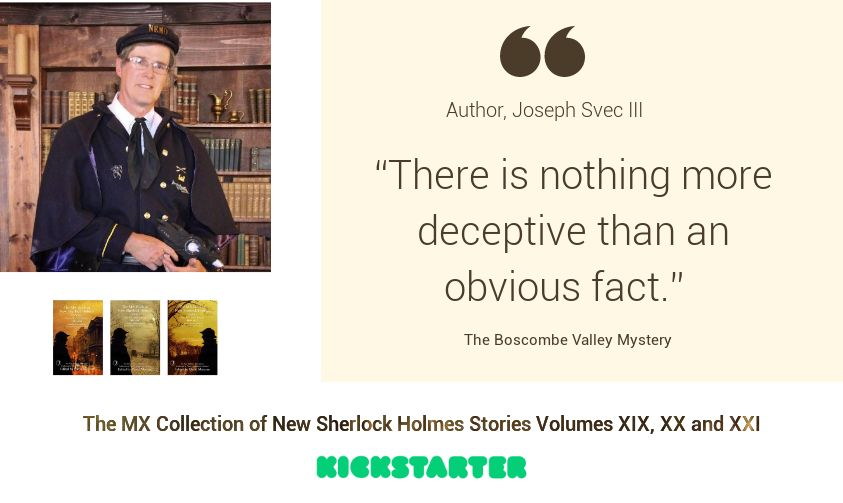 Sherlock Author Profile - Joseph Svec III