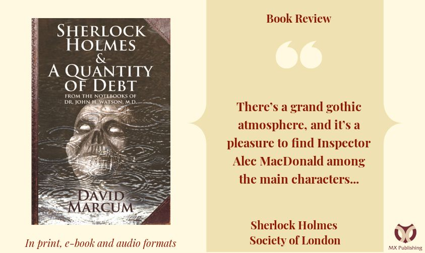 Book Review - Sherlock Holmes and A Quantity of Debt