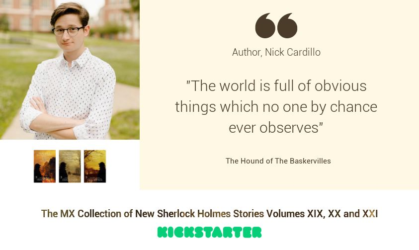 Sherlock Author Profile - Nick Cardillo