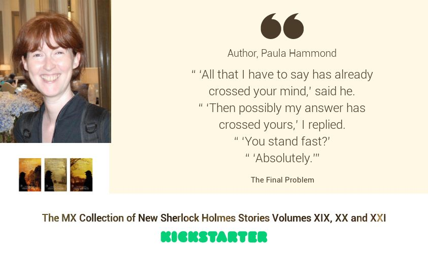 Sherlock Author Profile - Paula Hammond