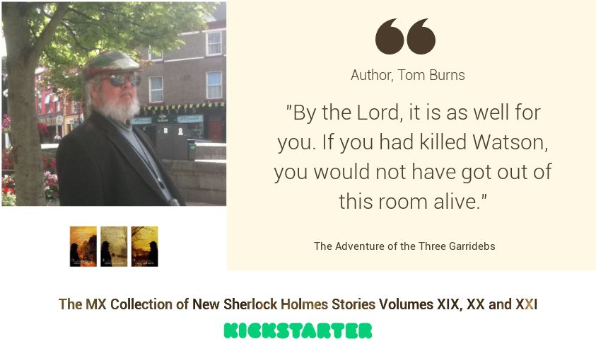 Sherlock Author Profile - Tom Burns