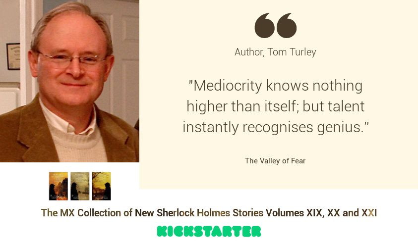 Sherlock Author Profile - Tom Turley