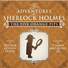 The Five Orange Pips - The Adventures of Sherlock Holmes Re-Imagined - Sherlock Holmes Books