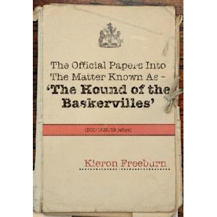 The Official Papers Into The Matter Known As The Hound of the Baskervilles DCC143589 refers - Sherlock Holmes Books