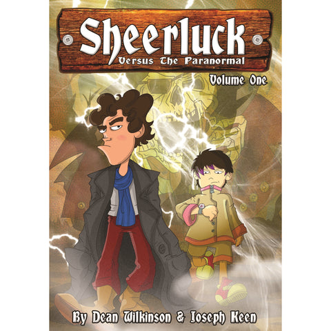Sheerluck Versus The Paranormal Volume 1