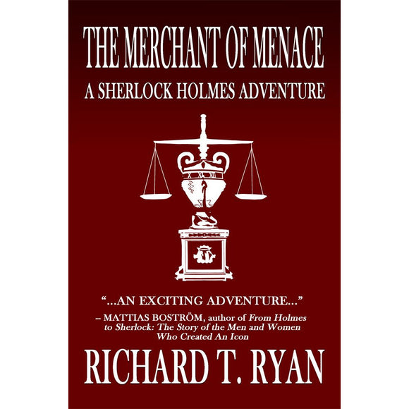 The Merchant of Menace: A Sherlock Holmes Adventure, Hardcover