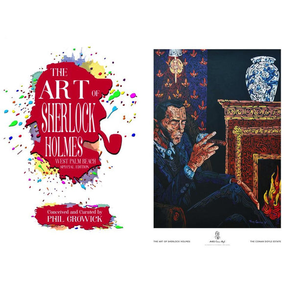 The Art of Sherlock Holmes West Palm Beach - Special Edition plus Print 2 - The Tranquility of The Morning story from Vol. VII of the MX Collection