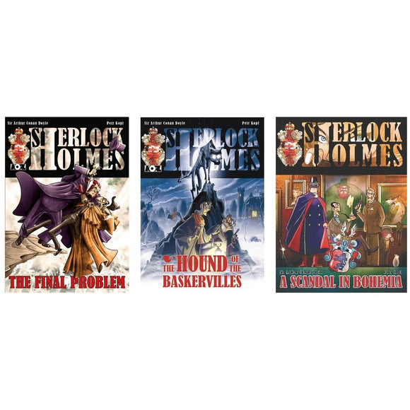 Sherlock Holmes Graphic Novel Bundle