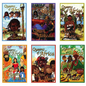 Queens of Africa - All Six Story Books