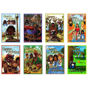 Queens of Africa - Six Story Books and Two Learning Books