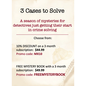 Three Month Dear Holmes Subscription