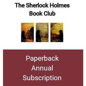 Sherlock Holmes Book Club - Paperback Subscription - 12 Months