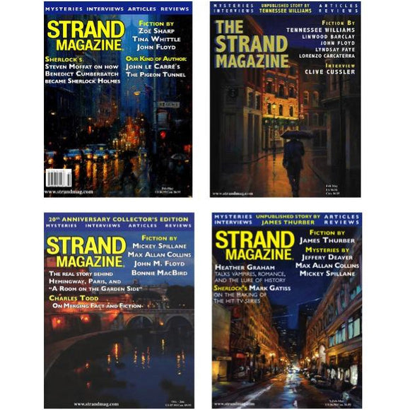 Strand Magazine - One Year Subscription (4 issues, sent quarterly)