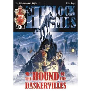The Hound of The Baskervilles  – A Sherlock Holmes Graphic Novel - Sherlock Holmes Books