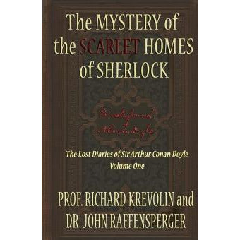 The Mystery of The Scarlet Homes Of Sherlock - Sherlock Holmes Books