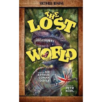 The Lost World – An Arthur Conan Doyle Graphic Novel - Sherlock Holmes Books