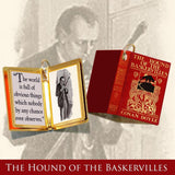 Miniature Book Quote Pendant - The Hound of the Baskervilles