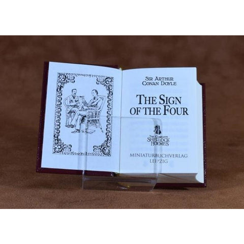 Sign of The Four - Leather Hardcover Minibook