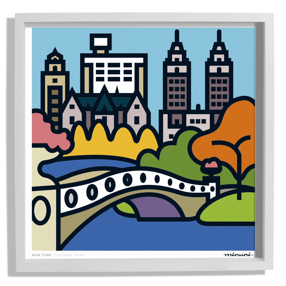 Art Print inspired in the Central Park New York